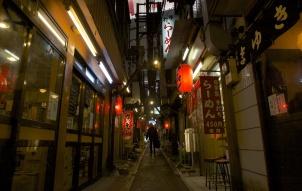 Omoide Yokocho (ruelle des yakitoris), Shinjuku, Tokyo.