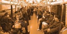 Train urbain, Tokyo.