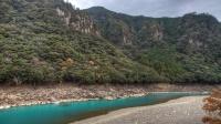Rivière Kawayu, près du village de Yunomine.