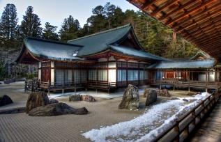 Temple zen, Koyasan.