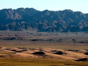 Désert de Gobi, Mongolie.
