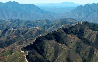 Muraille de Chine en périphérie de Pékin.