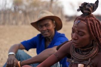 Village Himba, Epupa, Namibie.