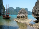 Baie de Ha Long, Vietnam.