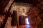 Église rupestre Abuna Yemata Guh, Tigray, nord de l'Éthiopie.