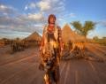 Femme hamar, Vallée de l'Omo, sud de l'Éthiopie.