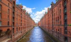 Port de Hambourg, Allemagne.