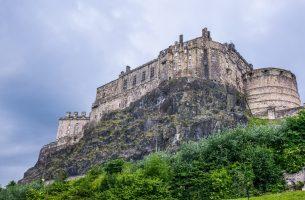 Château d'Édimbourg, Écosse.